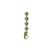 Brass Ball Chain End Attachments
