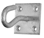 Hook on Plate - Mild Steel