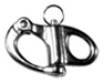 Snap Shackles - Fixed Eye - Stainless Steel (AISI 316)