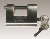Tri-Circle Stainless Steel Armoured Lock